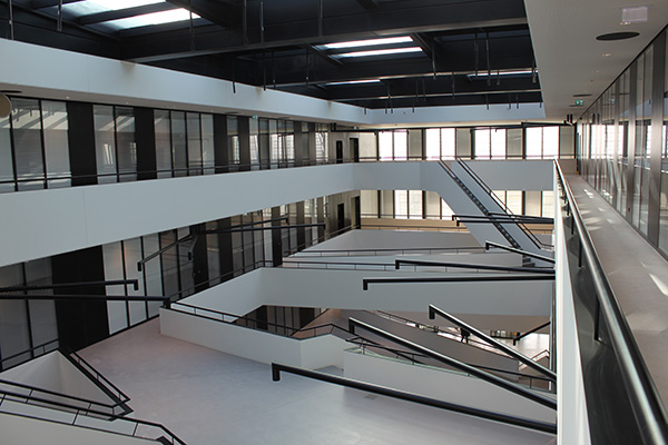 EPFL ATRIUM - Travaux de plâtrerie
